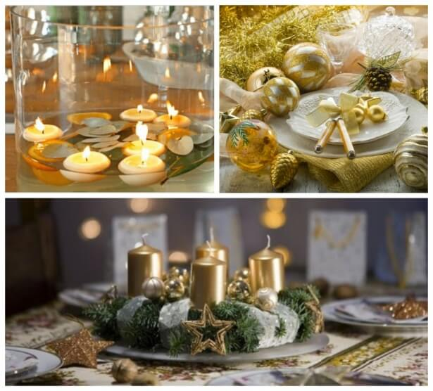 How to decorate the New Year table 2021
