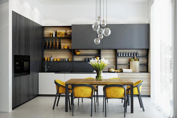 Anti-trends in kitchen design 2022